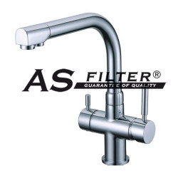 FAUCET 3 WAYS AS-208 ASFILTER