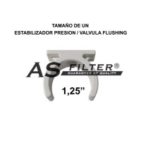 CLIP BASE SUJECCION 1,25""