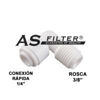 CODO C.RAPIDA1/4 X ROSCA3/8