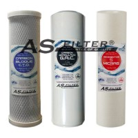 "FILTERS OSMOSIS 10"" HQ ASFILTER PACK 3"