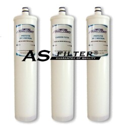 FILTERS FOR OSMOSIS S PACK 3 (1M)