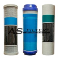 "FILTROS OSMOSIS 10"" HQ PACK 3"