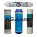 """FILTERS OSMOSIS 10"""" HQ PACK 4"""