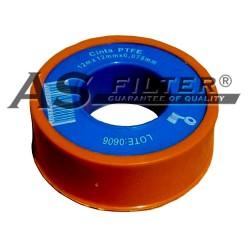 ROLLO TEFLON NARANJA 12m x 12mm x 0,075mm