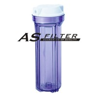 "FILTER HOUSING 10"" CLEAR FOR RO EC ASFILTER"