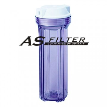 "FILTER HOUSING 10"" CLEAR EC ASFILTER"
