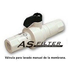 VALVULA LIMITADORA 400ml. CON FLUSHING