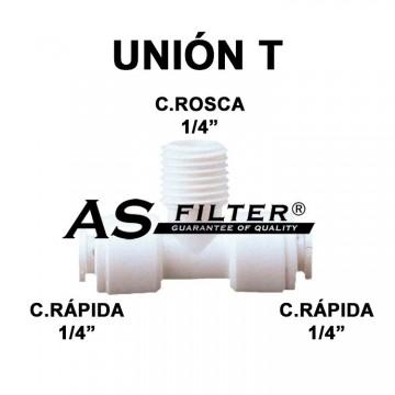 TE ABIERTA C.RAPIDA 1/4 X ROSCA 1/4 X C.RAPIDA 1/4
