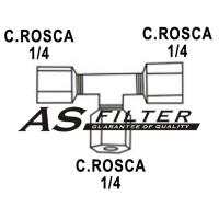 TE C.ROSCA1/4 X C.ROSCA1/4 X C.ROSCA1/4