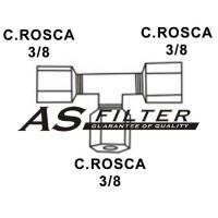 TE C.ROSCA3/8 X C.ROSCA3/8 X C.ROSCA3/8