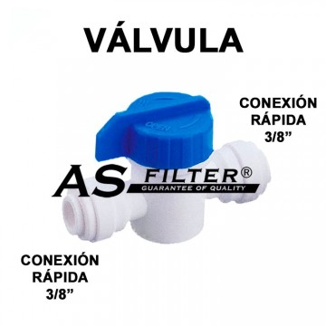 VALVULA DIRECTA CR.3/8 x CR.3/8