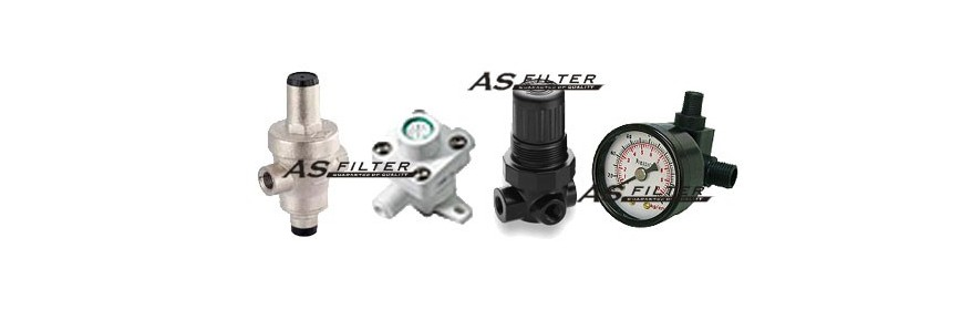 Reductores de presión y manómetros
